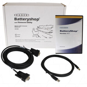 Cadex Battery Shop 1 PC Software & Accessories, Batt Sware