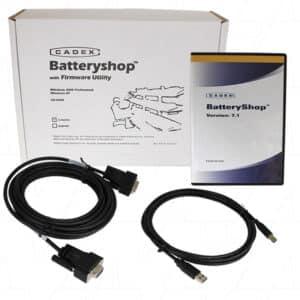 Cadex Battery Shop 1 PC Software & Accessories, Batt Sware