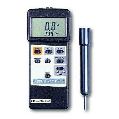 Lutron Conductivity Meter (High Performance) + Rs232, CD4303