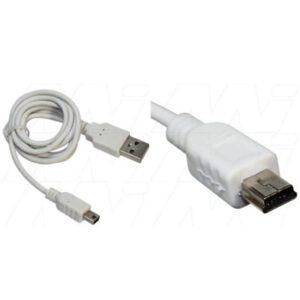 O2 Graphite USB Charger/Data Cable for Mini USB devices (bulk packaged), Enecharger, CDC-MINI