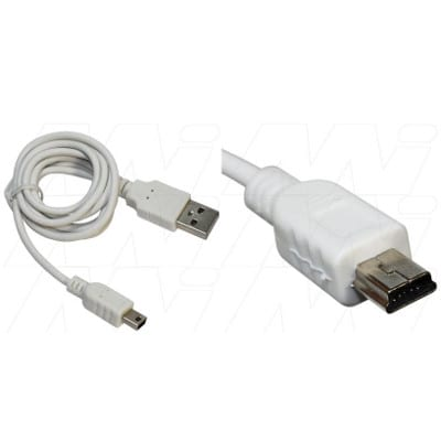 Blackberry 5790 USB Charger/Data Cable for Mini USB devices (bulk packaged), Enecharger, CDC-MINI