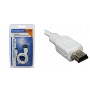 Navigon 1200 USB Charger/Data Cable for Mini USB devices (consumer packaged), Enecharger, CDC-MINI-BP1