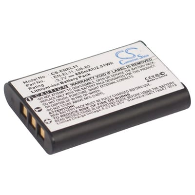 3.7V Olympus FE-370 ENEL11 Battery