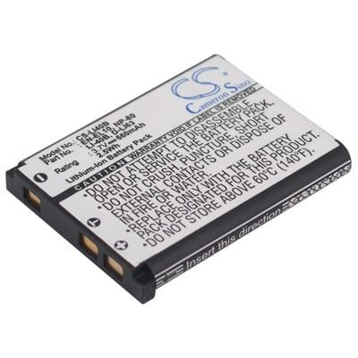 3.7V Nikon Coolpix S600 LI40B Battery