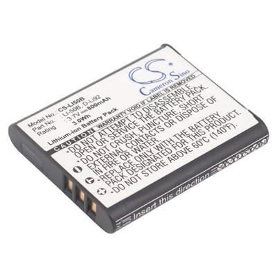 3.7V Pentax Optio X70 LI50B Battery