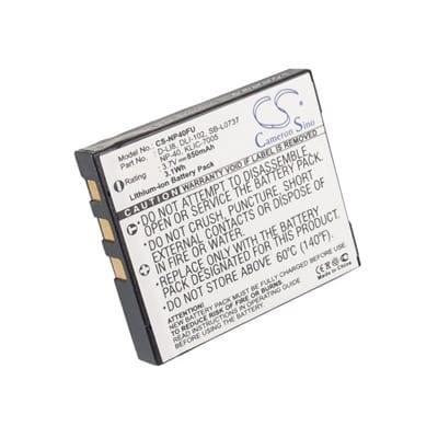 3.7V Pentax Optio S NP40FU Battery