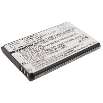3.7V 1000mAh Fortuna Clip-On XEW01SL Battery