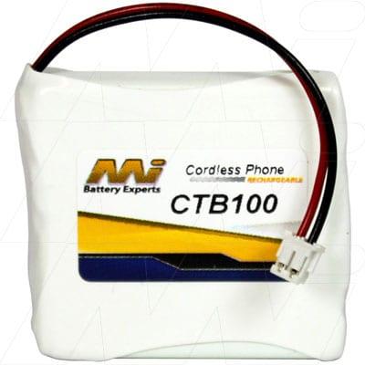 2.4V T-Mobile T-Com SINUSA702 CTB100 Battery
