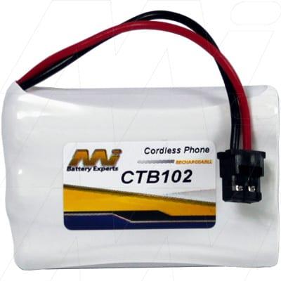 3.6V Uniden DCT750 CTB102 Battery