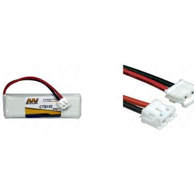 2.4V Telstra Slim Touch 9650 CTB103 Battery