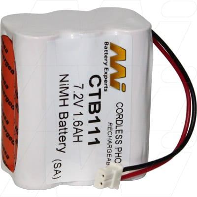 7.2V Vidtek 180 CTB111-BP1 Battery