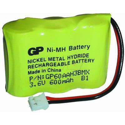 3.6V GP GP60AAH3BMX CTB52 Battery