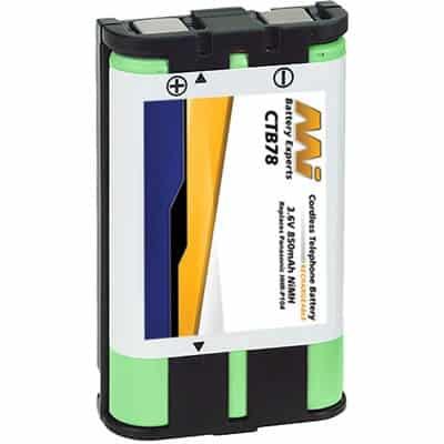 3.6V Panasonic HHR-P104 CTB78 Battery