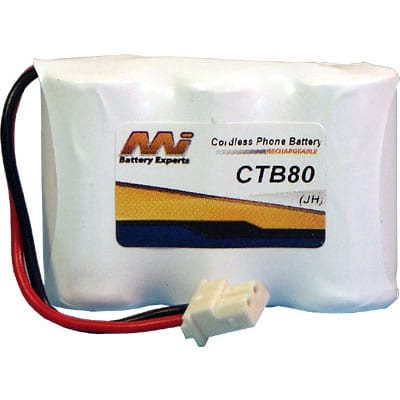 3.6V Philips CP-350AUS CTB80 Battery