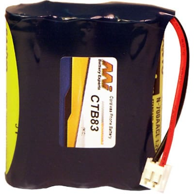 3.6V Phone Mate 3/2 3AACA CTB83 Battery
