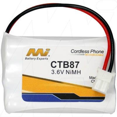 3.6V GP GP60AAAH3BMX CTB87 Battery