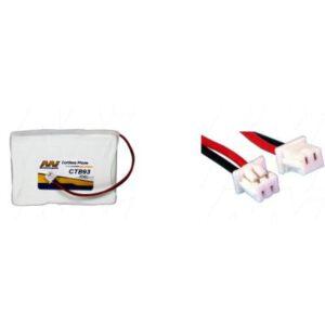 3.6V 35.5mAh DeTeWe 480i CTB93 Battery