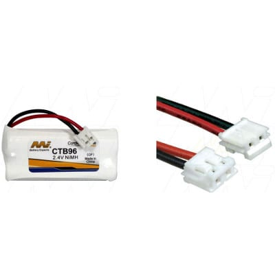 2.4V 21mAh V-Tech 89-1326-00-00 CTB96 Battery