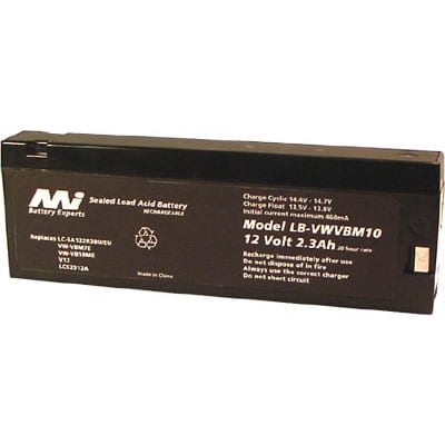 12V JC PENNEY 686-5100 LB-VWVBM10 Battery