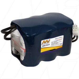 2 x 6V Devilbliss HF7305pd 880020 MB290A Battery