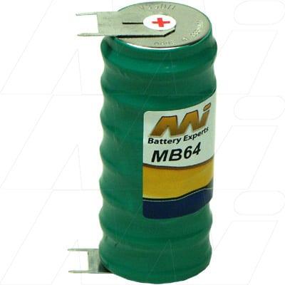 8.4V D-10mm. MB64 Battery