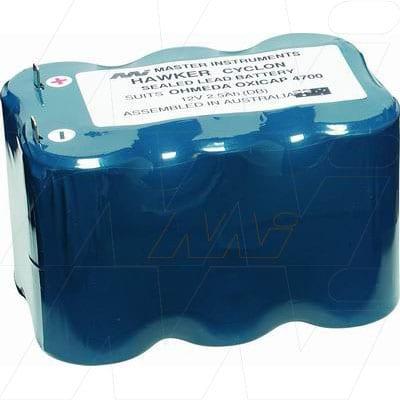 12V Datex Ohmeda 4700 Oxycap MB662 Battery