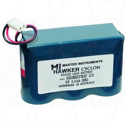 6V Oximetric Oximetric 2 MB688 Battery