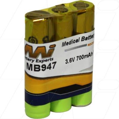 3.6V Philips SBC 468/91 Babyphone MB947 Battery