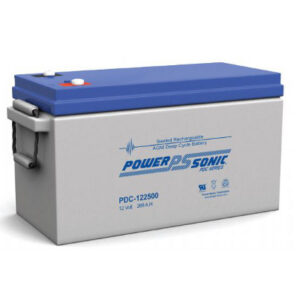 12V 268Ah Powersonic AGM Deep Cycle Sealed Lead Acid (SLA) Battery, PDC-122500