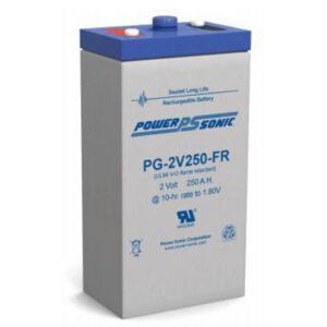 12V 260Ah Powersonic AGM Long Life Sealed Lead Acid (SLA) Battery, PG-12V250 FR