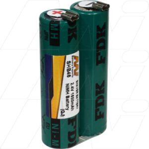 2.4V Wahl 1854 SHB46 Battery