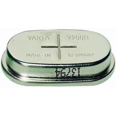 12V RBC Nickel Metal Hydride - NiMH Button / Coin Battery Pack 200mAh, Varta, 10/V200H