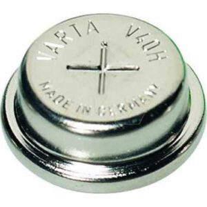 1.2V RBC Nickel Metal Hydride - NiMH Button / Coin 40mAh, Varta, V40H