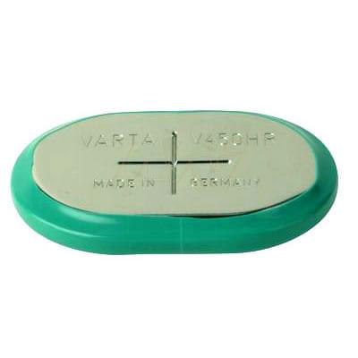 12V RBC Nickel Metal Hydride - NiMH Button / Coin Battery Pack 450mAh, Varta, 10/V450HR