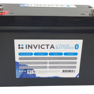 Invicta Lithium 12V 100Ah Bluetooth SNL12V100BT