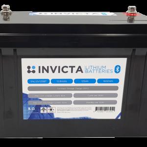 Invicta Lithium 12V 125Ah Bluetooth SNL12V125BT