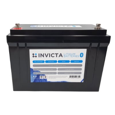 Invicta Lithium 24V 50AH with Bluetooth SNL24V50BT