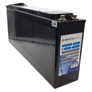 12V 100Ah Slimline Invicta Lithium Iron Phosphate Battery