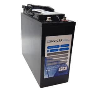 Invicta Lithium 12V 50AH Slimline with Bluetooth SNLFT12V50BT