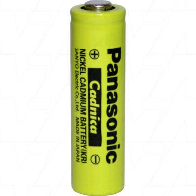 1.2V 600mAh AA KR-AAH Nickel Cadmium - NiCd Industrial High Temperature, Panasonic