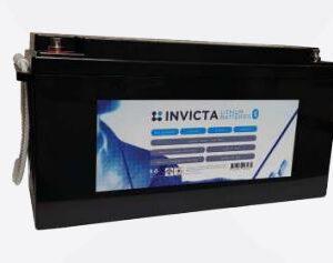 Invicta Lithium 12V 200AH with Bluetooth SNL12V200BT