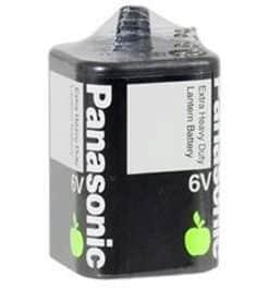 6 Volt Panasonic Carbon Zinc Extra Heavy Duty Lantern 4F/E4R25X-6VOLT Battery, 1 Pack