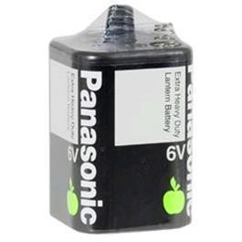 6 Volt Panasonic Carbon Zinc Extra Heavy Duty Lantern 4F/E4R25X-6VOLT Battery, 1 Pack