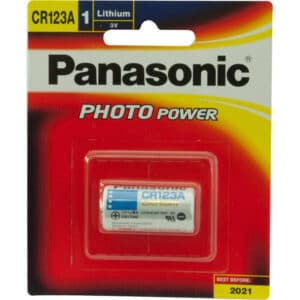 3V CR123A Panasonic Camera Battery CR-123AW/1BE Battery