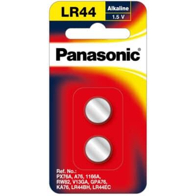 1.5V LR44/A26 Panasonic Calculator Battery LR-44PT/2B Battery, 2 Pack