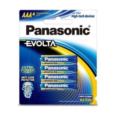1.5V AAA Panasonic Evolta LR03EG/4B Battery, 4 Pack