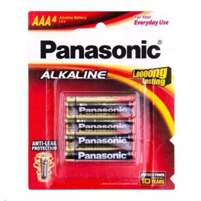 1.5V AAA Panasonic Alkaline LR03T/4B Battery, 4 Pack