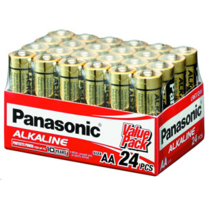 24V AA Panasonic Alkaline LR6T/24V Battery, 24 Pack