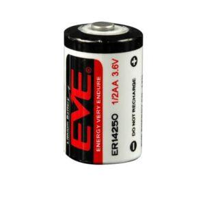3.6V 1/2AA 1200mAh Lithium Thionyl Chloride ER14250, EVE