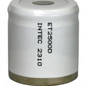 1.2V 1/2D Nickel Cadmium - NiCd Industrial Standard Cylindrical Cell, 2300mAh, Intec, ET2500D